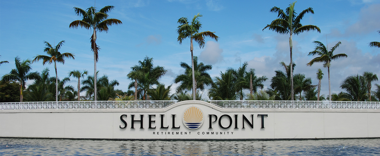 Shell Point Sign Wall